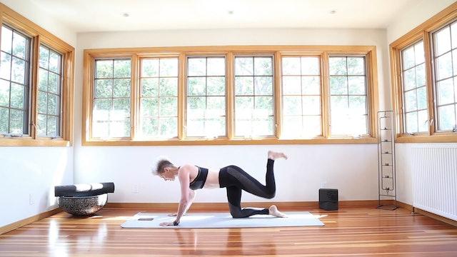 Yoga Shred®: Hands & Knees Fierce Kicks
