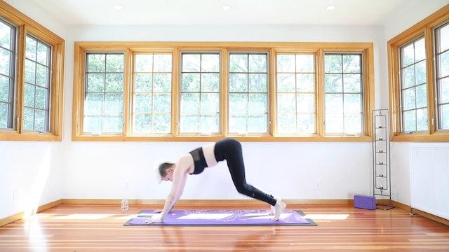 Yoga Shred®: Yoga Burpee Pushups
