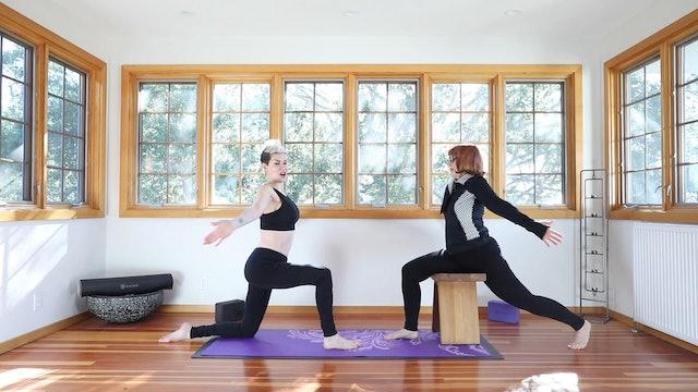 Chair / Gentle Yoga Practice: Core Strength & Heart Opening!