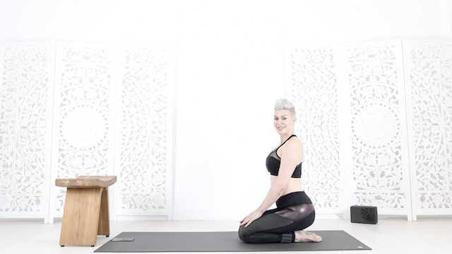YS Chest Lifter Heart Opener Yoga Shred from Fierce Over 40 Course!