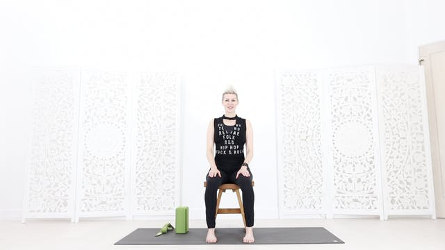 Chair Yoga Trailer and Intro Video