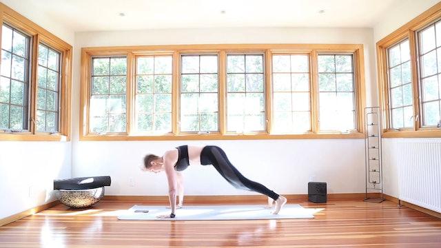 Yoga Shred®: Running Burpees