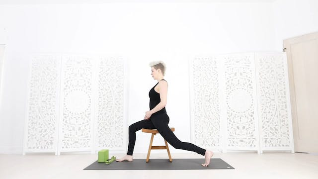 Chair Yoga Session 8:  Spine + Chest Strength + Opening