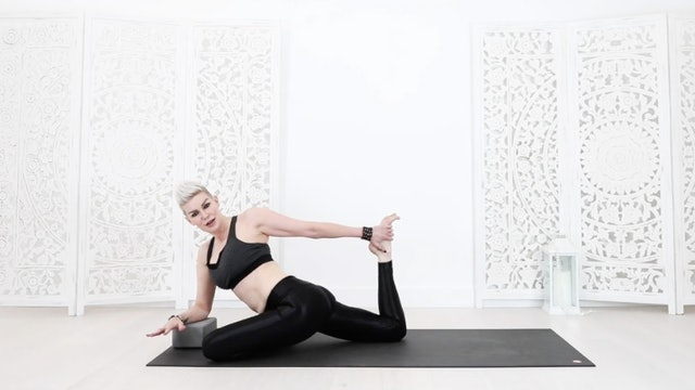 Triple Pigeon Hip Balancing Yoga Cool Down + Stretch
