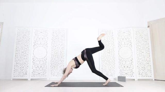 Flying Pigeon Yoga Flow 40 Mins Int/Adv