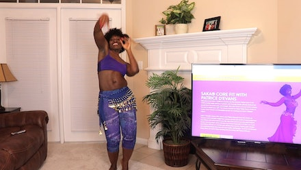 Belly Dance Fit with Patrice D'Evans Video