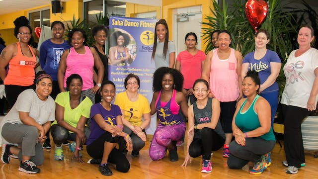 Saka Core Fit Class Summer Tropical toning 2018