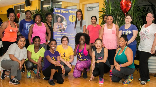 Saka Women's Class Summer Tropical toning 2018