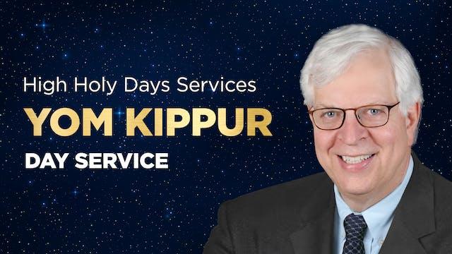 Yom Kippur 2021 - Day Service