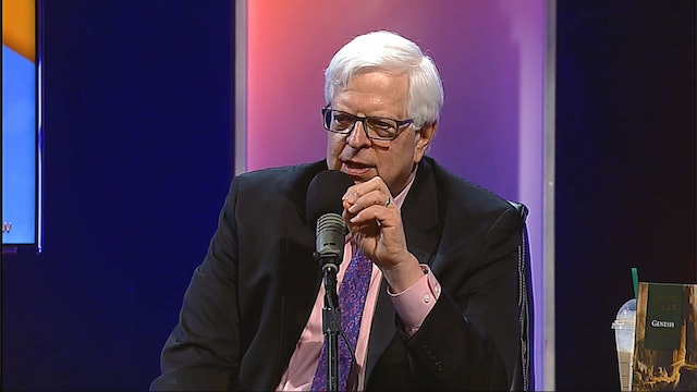 Dennis Prager at the Holy Land Experience