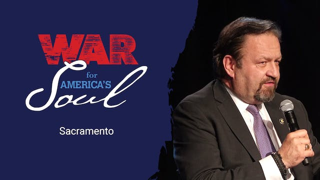 War For America's Soul - Sacramento