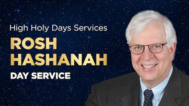 Rosh Hashanah 2021 – Day Service