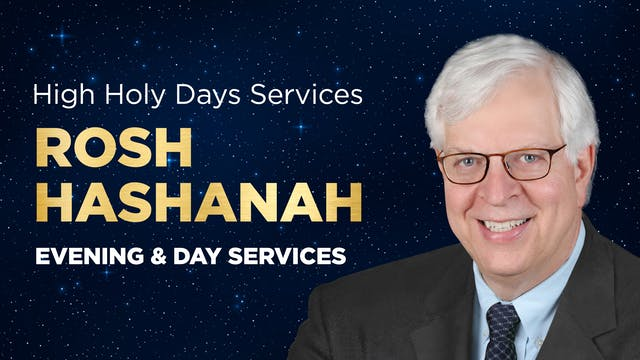 Rosh Hashanah 2021 with Dennis Prager