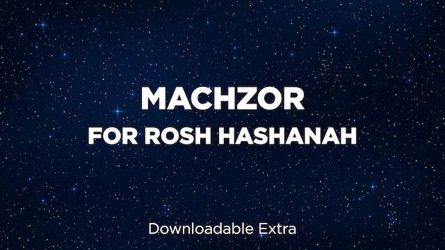 Machzor for Rosh Hashanah