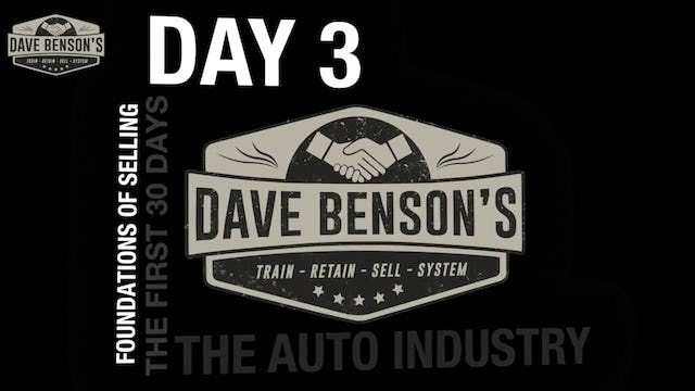 DAY 3 - The Auto Industry