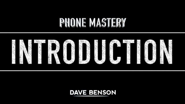 Phone Mastery - Introduction