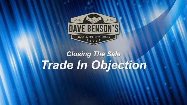 Trade In Objection