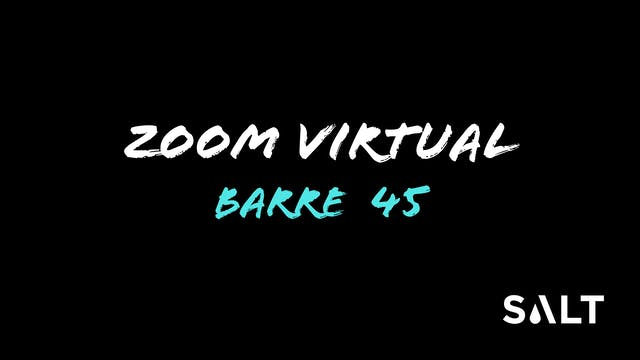 Zoom Barre 45 with Tami 4 29 20