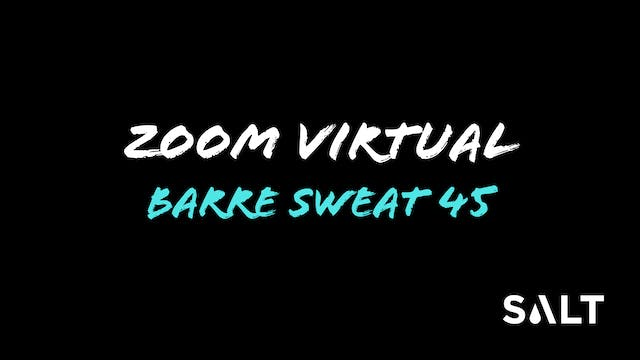 5.4 Zoom Barre Sweat 45 with Leanne