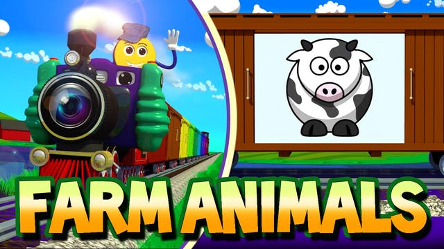 Ep.06-Cartoon Farm Animals-PicTrain