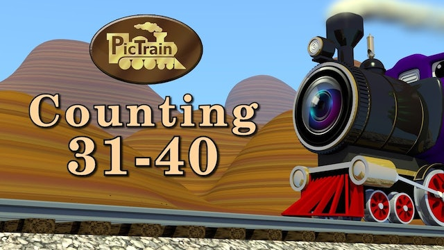 Ep.23-Counting 31-40-PicTrain