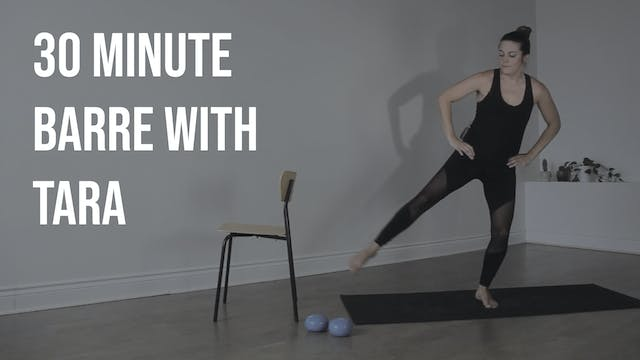 Barre with Tara