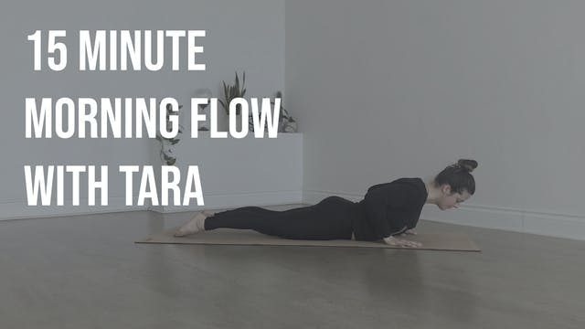 Morning Yoga with Tara