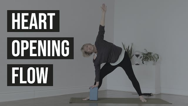 Heart Opening Flow with Casey
