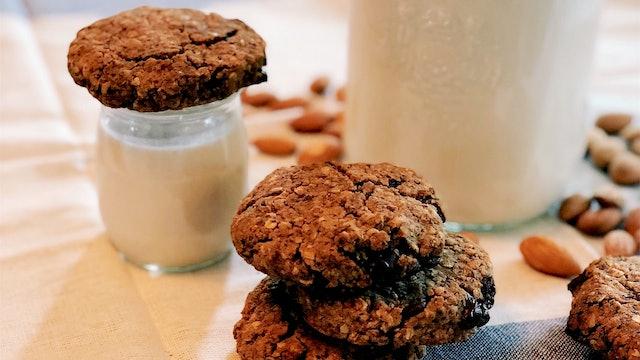 Breakfast Cookies (reuse your almond pulp)