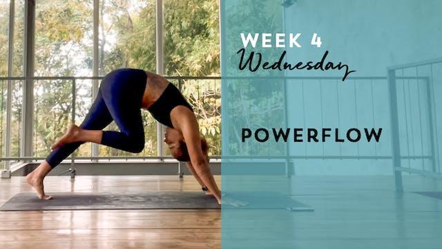 W4: Wednesday - Powerflow