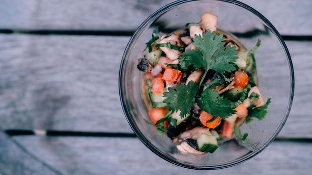 Portobello Mushroom Ceviche