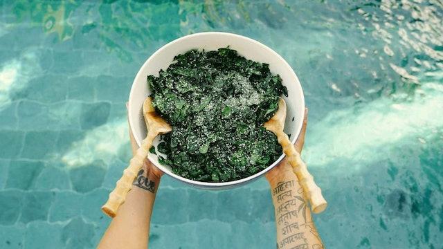 Massaged Lacinato Kale Salad
