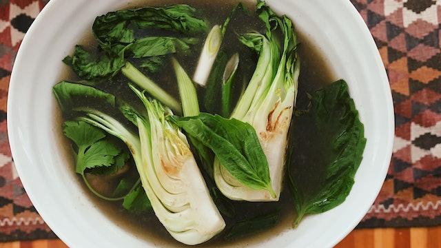 Vegetarian Pho Broth