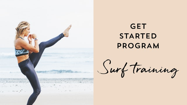 Get Started - Surf Training