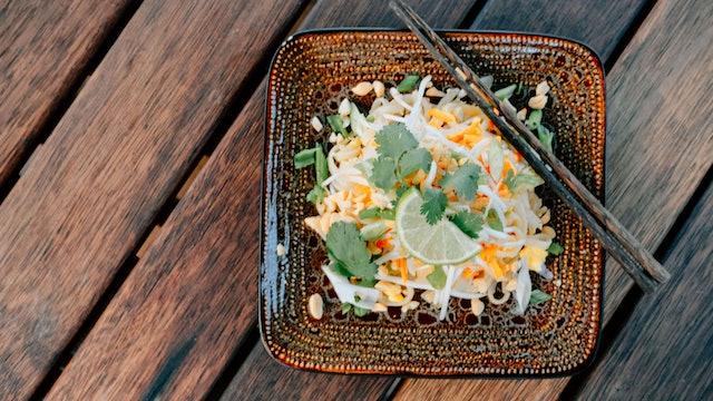 Pad Thai-ish Noodles