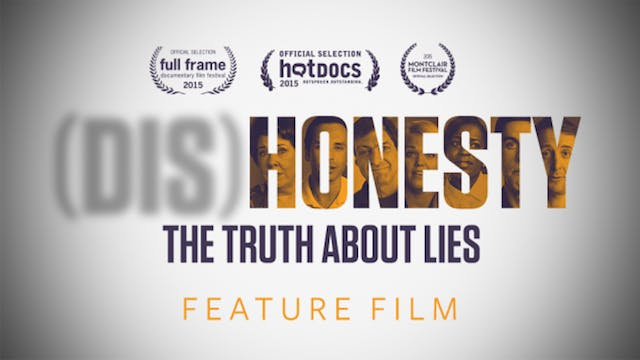 (DIS)HONESTY – THE TRUTH ABOUT LIES