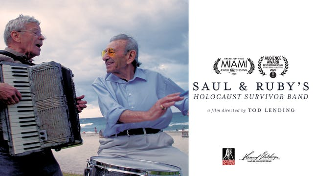 SAUL & RUBY'S HOLOCAUST SURVIVOR BAND -Cine Athens