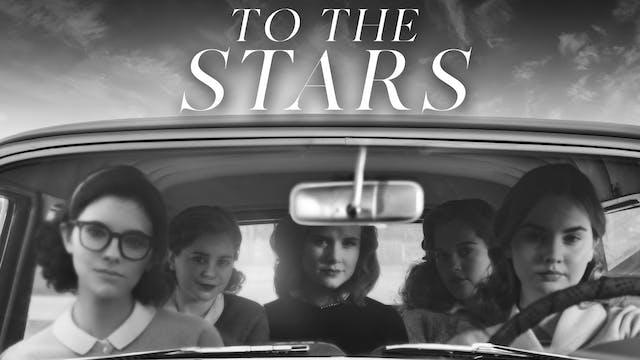 To The Stars - B&W
