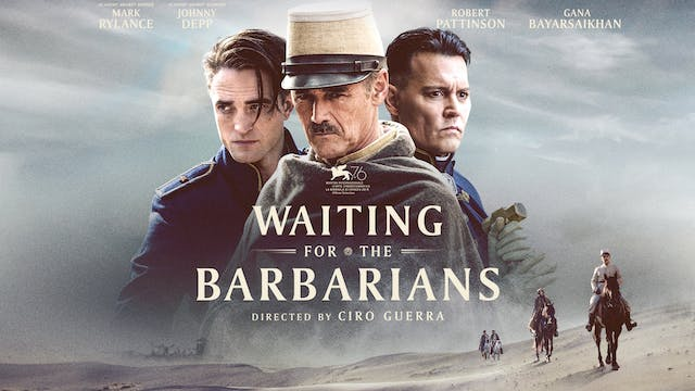 WAITING FOR THE BARBARIANS-Bobby Stone Film Series