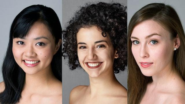 Points of View: Elizabeth Mateer, Norika Matsuyama, and Bianca Teixeira