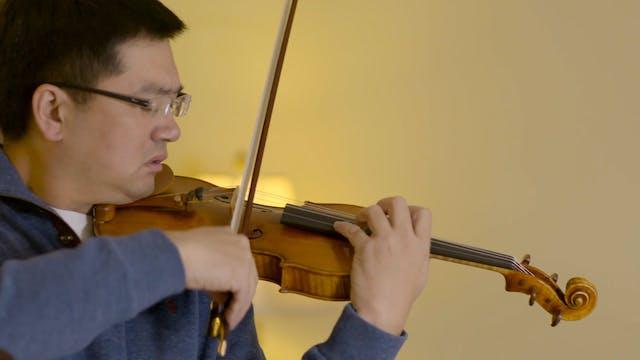 Violinist Yun Chu