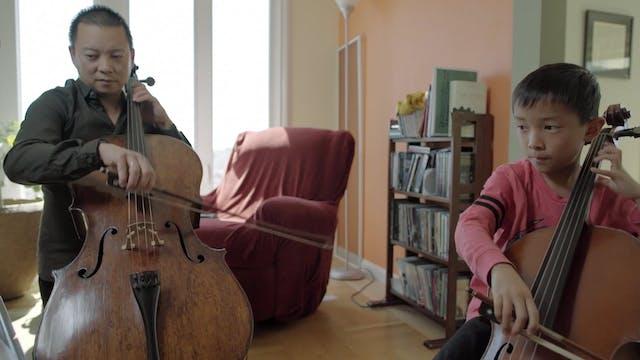 Assistant Principal Cello Amos Yang
