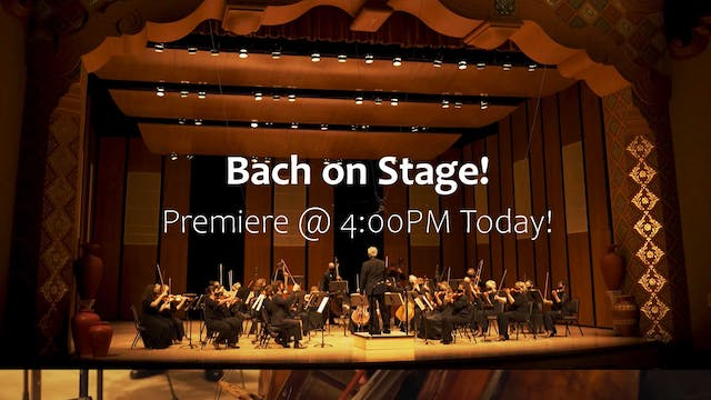 Bach on Stage Trailer