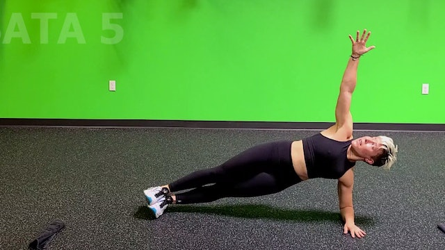 Bodyweight Tabata #12 with Sarah