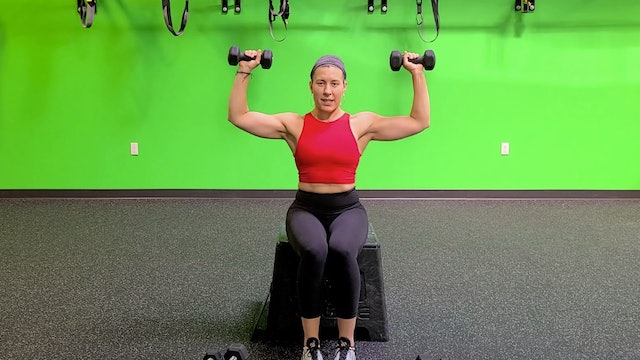 Strength #10 - Upper Body/Core with Sarah