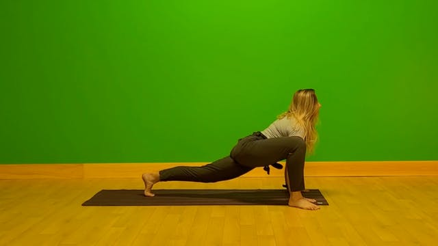 Yoga Strength Sequence
