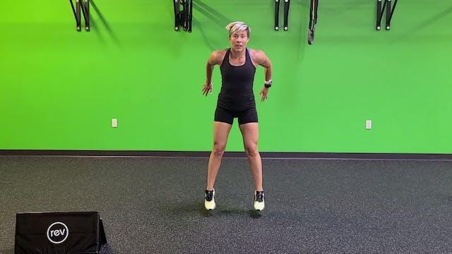 Bodyweight Tabata #15 with Sarah