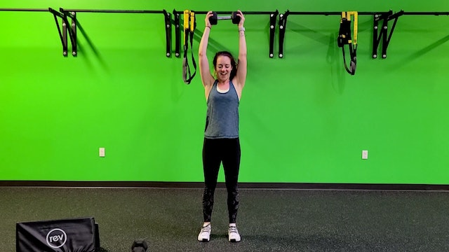 Tabata #22 with Lauren - Weights Required