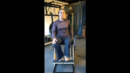 Sarah Swain Fitness Video