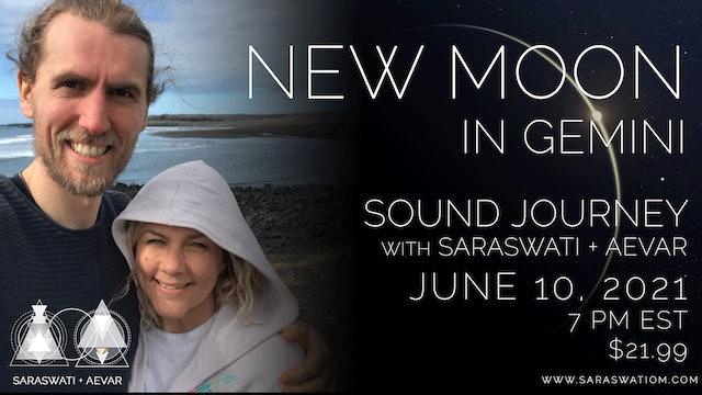 New Moon In Gemini Sound Journey